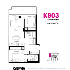 karma condos karma condo 2 1 bedroom floor plans
