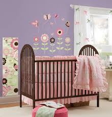 Wood Wall Decor Target by Decorating Brown Wood Target Baby Cribs With Pink Ruffle Bedding
