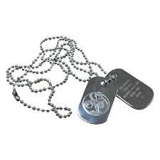 Engravable Dog Tags Personalised Engraved Dog Tags Ties U0027n U0027cuffs