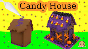make a halloween haunted cookie house wilton diy food craft fun