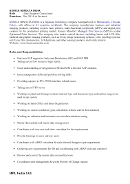 Sample Resume For Sap Mm Consultant Resume Builder Software For Mac Os X Perfet Resume Data Esl