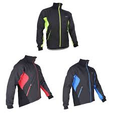 thermal cycling jacket tofern arsuxeo men fleece thermal winter cycling jacket windproof