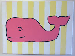Vineyard Vines Home Decor Vineyard Vines Whale Painted Canvas Need For Me To Do For Summer