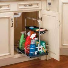 kitchen sink cabinet caddy undersink pullout removable cleaning caddy sink base accessories