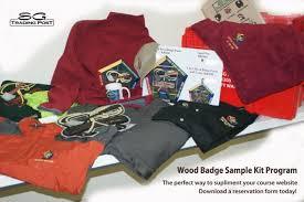 wood badge powder horn sample kits sg trading post