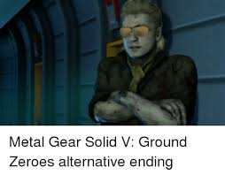 Mgs Meme - 25 best memes about metal gear solid v ground zeroes metal