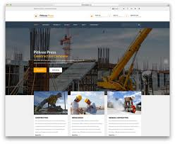 Awesome Collection Of General Contractor 30 Best Construction Company Wordpress Themes 2018 Colorlib