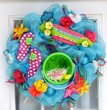 summer wreath diy summer inspired wreaths to spice up your front door