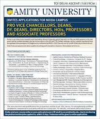 Resume Format For Jobs In Singapore by Amity University