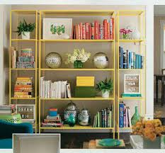 Green Bookcase The Art Of Bookshelf Arranging One Good Thing By Jillee