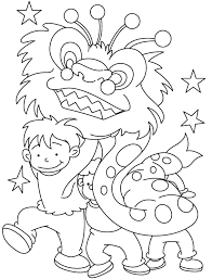 new years stuff children celebrate new year coloring pages kid
