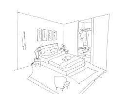coloriage de chambre de fille dessin de coloriage chambre ã imprimer cp bébé fille enfant