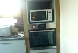 meuble de cuisine pour micro onde meuble cuisine micro onde colonne de cuisine pour four encastrable
