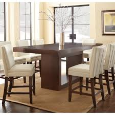 Counter Height Dining Room Tables Dining Table Size Regarding Stylish Property Standard Dining Room