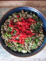 cuisiner la veille pour le lendemain recette land recette de salade de lentilles esaü sur la cuisine