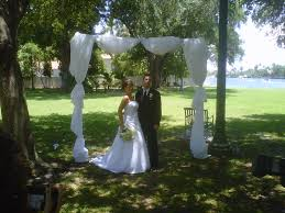 wedding arches rentals in houston tx south florida weddings wedding officiants bamboo chuppah rentals