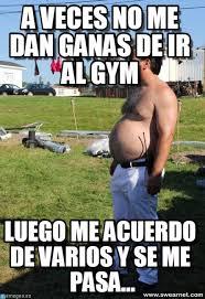 Hcl Meme - a veces no me dan ganas de ir al gym randy meme on memegen