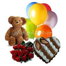 deliver birthday cake and balloons cake balloon teddy flowers send gifts to singapore