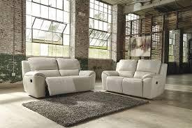 Reclining Living Room Sets Amazon Com Ashley Valeton U7350081 86 U0026quot Leather Match 2 Seat