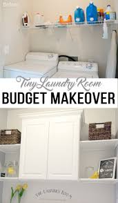 Ideas For Laundry Room Storage by Best 25 Laundry Room Makeovers Ideas On Pinterest Small Laundry