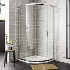 1200mm Shower Door Ideal Essential Single Door Quadrant Shower Enclosure