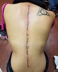 spine tattoo quote ideas best 25 spine tattoos ideas on
