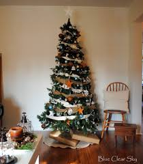 Christmas Tree Decorating Ideas Pictures 2011 Rustic Maple Christmas In Our Living Room 2011