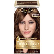 Chestnut Hair Color Pictures L U0027oreal Paris Superior Preference Color Care System Medium