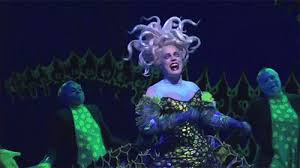 mermaid broadway images ursula eels