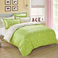 green moon and star full queen size bedding full and queen cotton