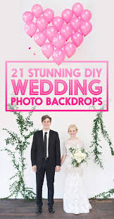 wedding backdrops diy 21 stunning diy wedding photo booth backdrops