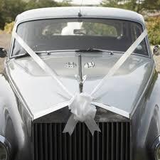 car ribbon wedding car ribbon decorations party parade includes ribbon
