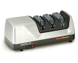 sharpening for kitchen knives chef schoice model 120 edgeselect electric knife sharpener