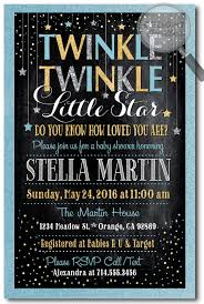twinkle twinkle baby shower invitations custom baby shower invitations