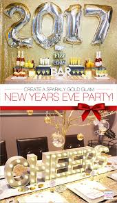 gold new years eve cocktail party mimosa bar bar party