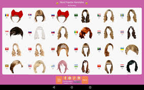 try hairstyles on my picture hairstyle mirror try on live android apps on google play
