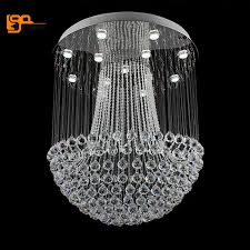 Circular Crystal Chandelier Online Get Cheap Crystal Chandelier 80cm Diameter Aliexpress Com