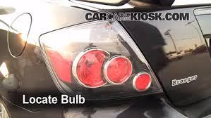 Scion Tc Maintenance Light Brake Light Change 2005 2010 Scion Tc 2009 Scion Tc 2 4l 4 Cyl