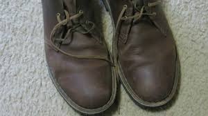clarks desert boots beeswax shoe review leather preservative