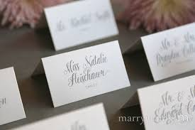 place card style