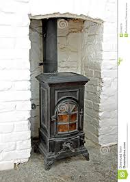 victorian wood burning stove royalty free stock images image