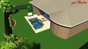 Narrow Lot House Plans Houston Kyle Franco Small Pool Design Premier Pools U0026 Spas Houston