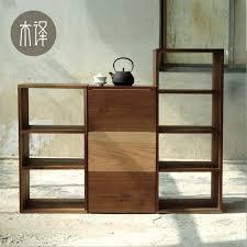 etagere legno 2018 solid wood furniture wood shelf bookcase black walnut oak