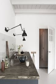 wall mounted kitchen lights kitchen of the week the curtained kitchen dutch modern edition