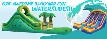 moonwalks in houston moonwalk and waterslide rentals houston