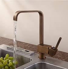 brass kitchen faucet antique inspired solid brass kitchen faucet antique brass finish