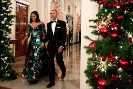 first lady michelle obama wears custom gucci for the kennedy