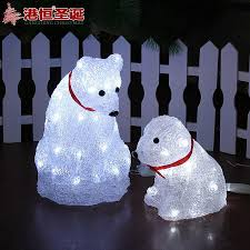 Lighted Christmas Decorations by Hong Kong Hang Christmas Transparent Acrylic Lighted Christmas