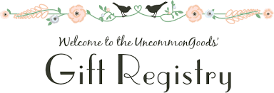 wedding registey wedding bridal baby gift registry uncommongoods