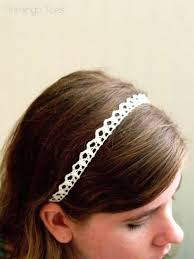 lace headbands simple lace diy headbands
